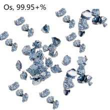0.1g/0.5g/1g Os Crystals Osmium Metal Small Block Scientific Research Experiment Element Hobbies Collection