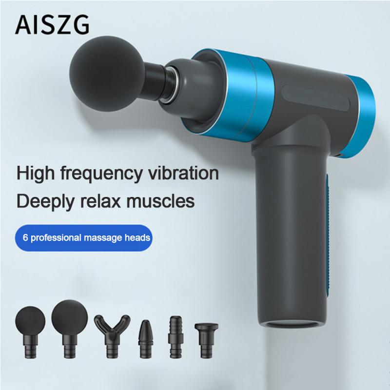 6800-7200/min Muscle Massage Gun Sport Therapy Massager Body Relaxation Pain Relief Slimming Shaping Massager With Touch Screen