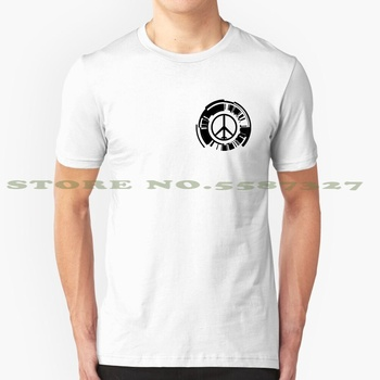 Peace Walker Logo Cool Design Trendy T-Shirt Tee Militaries Sans Frontieres Fox Xof Cipher Kojima Productions Kojipro Peace image