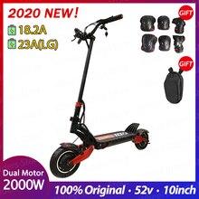 ZERO 10X скутер 10 дюймов двойной мотор электрический скутер 52 в 2000 Вт внедорожный e-скутер 65 км/ч двойной привод высокоскоростной скутер внедорожный