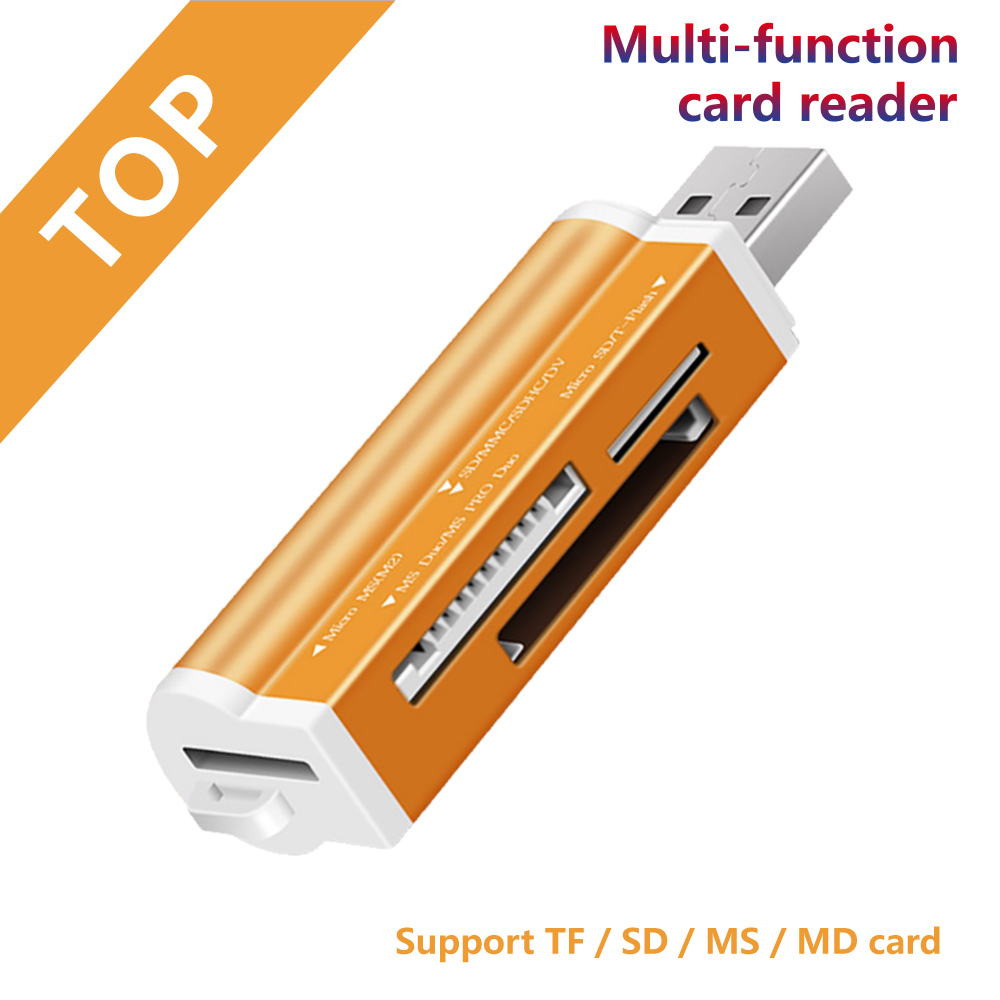 Multi Smart Memory Card Reader Adapter Mini Cardreader For Micro SD/TF Microsd Computer Laptop
