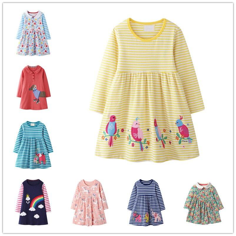 Vidmid novas meninas vestido applique manga longa princesa vestido crianças coelho traje crianças vestidos de festa do bebê meninas roupas pinguim