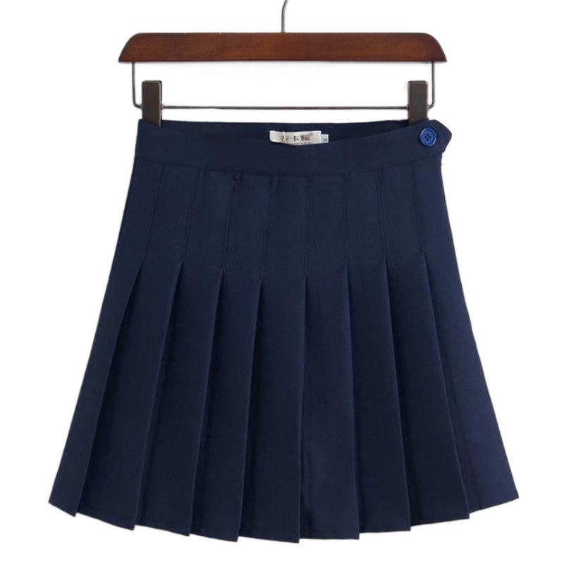 Merry Pretty New Fashion Women Skirt High Waisted Solid Mini Skirts Womens Black Pink Bottoms Pleated Skirt Zipper Saia Preta