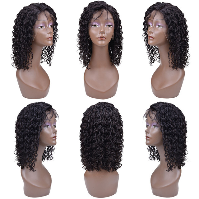 13X4 Short Bob Brazilian Human Hair/Wigs Brazilian