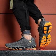 Мужская обувь для бега новые трендовые дышащие модные кроссовки Повседневная спортивная обувь уличные кроссовки для бега