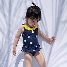 Купальник julysand для девочек Цельный купальник детская одежда