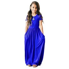 Seartist 2021 Новое платье для маленьких девочек с длинными