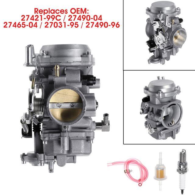 40mm Motorrad Carb Vergaser 27421 99C 27490 04 27465 04 27031 95 Für Harley Davidson/Softail/Dyna FXR Touring/Sportster