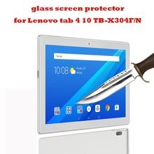 2 шт Закаленное стекло протектор экрана планшета s протектор экрана для lenovo tab 4 10 TB-X304F TB-X304N 10-дюймовый протектор экрана