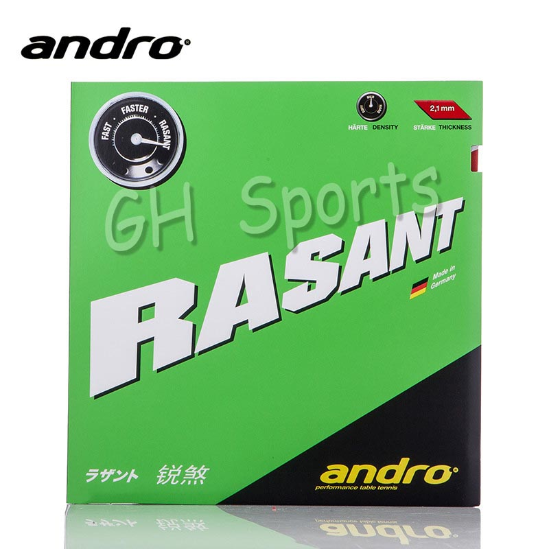 Andro RASANT Pimples In Table Tennis Rubber Pips-In Ping Pong Sponge Tenis De Mesa