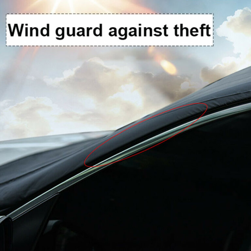 Protector Car Windshield Cover Polyester Windproof Accessories Magnetic|Car Covers| |  - title=