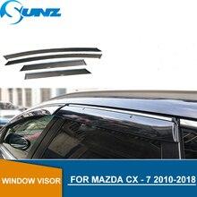 Window Visor For Mazda CX - 7 2010-2018 side window deflectors rain guards for Mazda CX - 7 2010-2018 SUNZ
