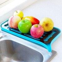 Cremalheira de água de drenagem de armazenamento de frutas bandeja de drenagem de dupla camada Racks e suportes     -