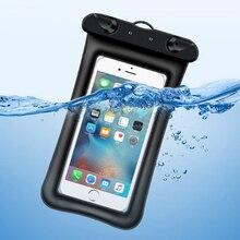 6.8Inch Floating Airbag Swimming Bag Waterproof Mobile Phone
