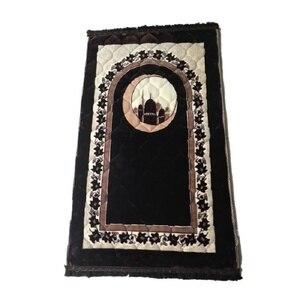 Image 4 - 80*120ซม.หนาอิสลามมุสลิมPrayerพรมSalat MusallahพรมTapis Travelสวดมนต์พรมSajadahอิสลามPraying Matผ้าห่มPM35