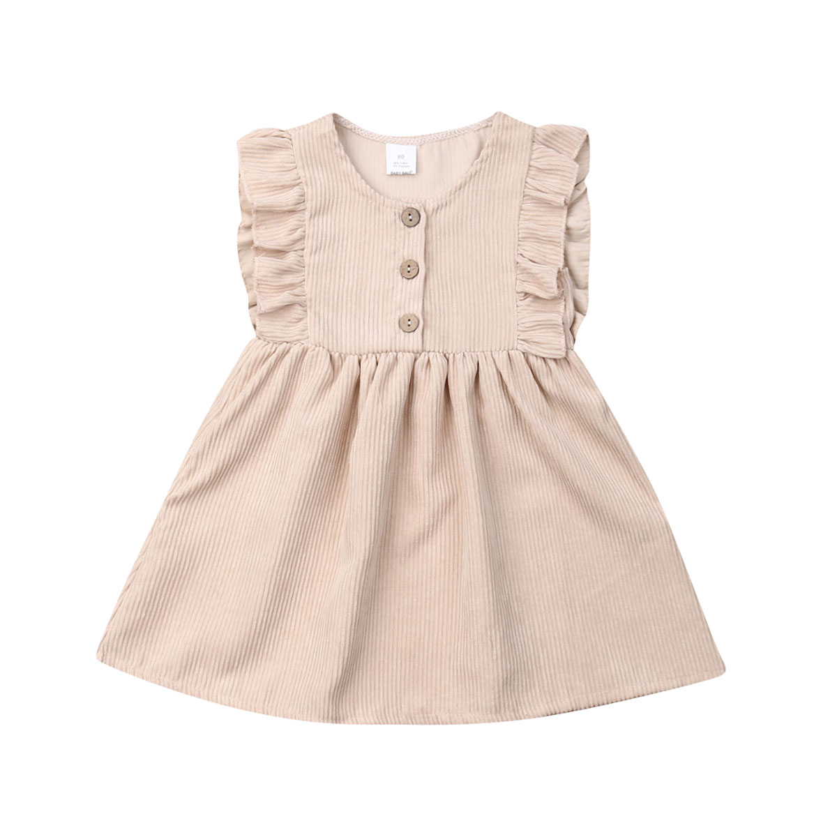 New Fashion Newborn Dress Infant Baby Clothes Dress For Girl Clothing Princess Party Dresses Ruffle Baby Dresses Casual Sundress