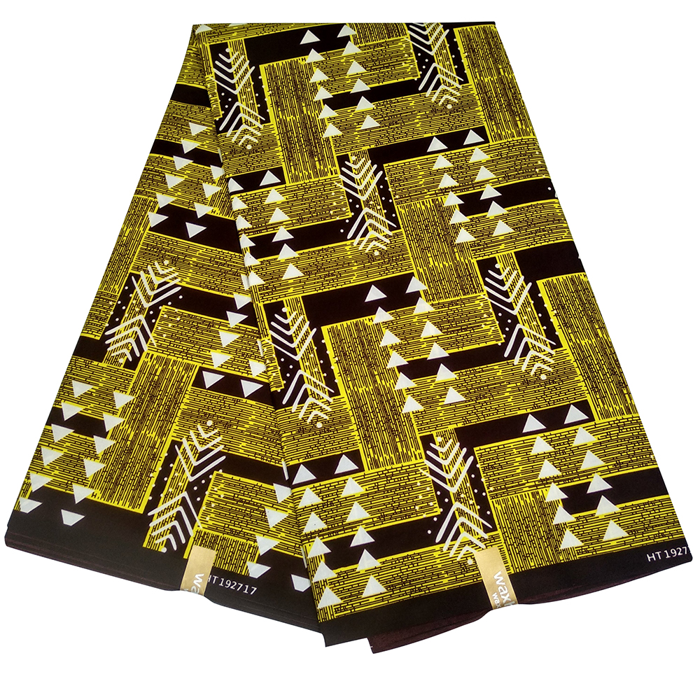 Ankara African Real Wax Prints Fabric Cheap-Fabric Real Wax High Quality New Holland Fabric For Party Dress Y611