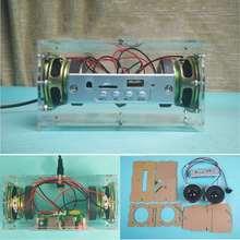 LEORY DIY Mini 3W bluetooth Speaker Kit MP3 Music Power Amplifier Audio Electronic