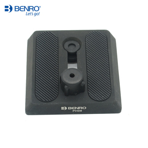 Image 1 - Benro PH09 Professionalอลูมิเนียมแผ่นPH 09 UniversalสำหรับHD2กล้องขาตั้งกล้องจัดส่งฟรี