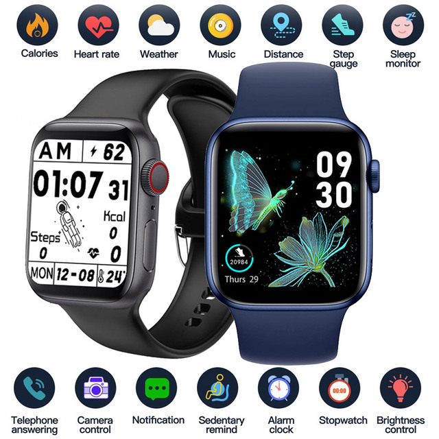 2021 Smart Watch  Sport Smartwatch Men Women Sleep Body Temperature Heart Rate Blood Pressure Monitor Watches For IOS Android 1