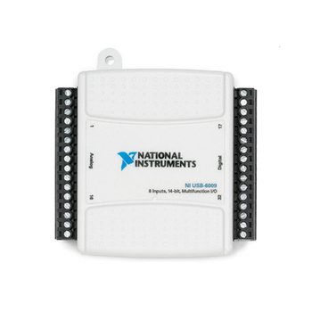 NI USB-6009 779026-01 многофункциональная DAQ карта сбора данных, 14 бит, 48 ККС/с, 8 аналоговых входов, 2 аналоговых выхода