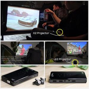 Image 5 - AUN PROJECTEUR LED X2. WiFi Android 3D projecteur pour Home cinéma. MINI projecteur cinéma. Prise en charge 1080P (commande vocale en option)