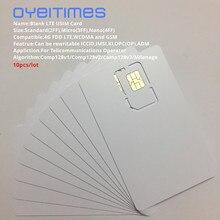 OYEITIMES 4G LTE Program SIM Card USIM SIM Card 128k LTE Programmable USIM Card ICCID IMSL ADM KI OPC OP With COMP128/Milemage