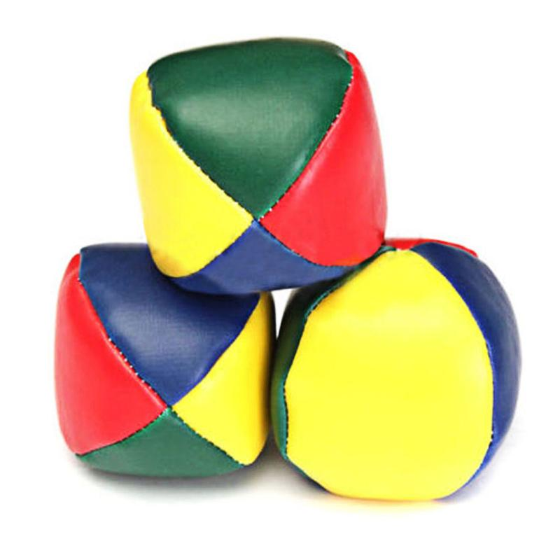 1PC Juggling Balls Set Classic Bean Bag Juggle Magic Circus Beginner Children Kids Toy Balls Kids Interactive Toys Baby Gift