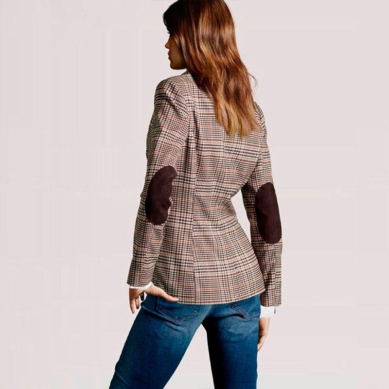 2019 New Women Blazer British Style Suit Long Sleeve Women Clothes Casual Office Blaser Feminino Bleizer Mujer Ladies Clothes