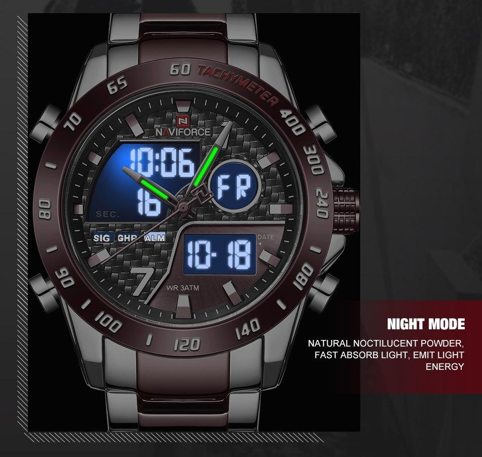 H2ecd2f2075234762957bf6d943905ab02 NAVIFORCE Men Digital Watch LED Sport Military Mens Quartz Wristwatch Male Luminous Waterproof Clock Watches Relogio Masculino