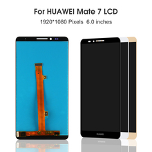 New 6.0'' Mate 7 LCD For HUAWEI Mate 7 LCD Display Touch Screen Digitizer Replacement Parts MT7-TL00 MT7-CL00 free shipping 100% new for huawei mate 8 lcd display touch screen digitizer glass sensor assembly replacement parts free shipping