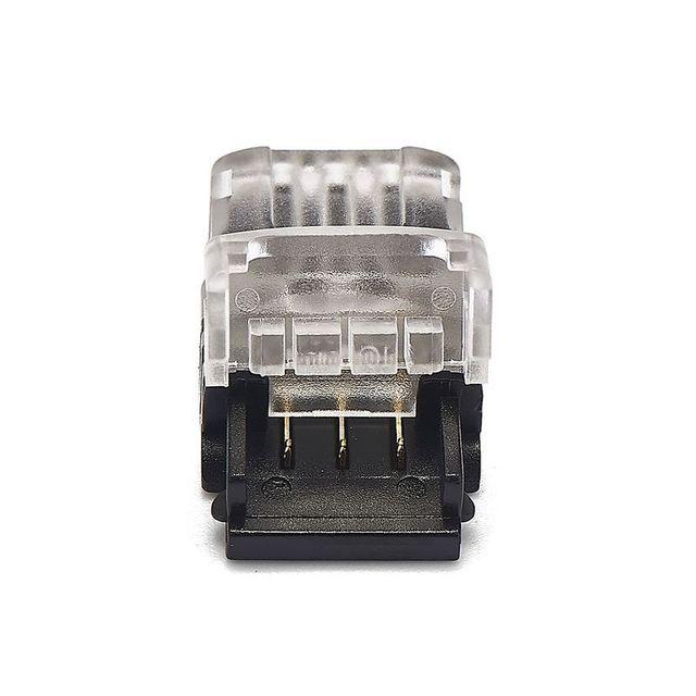 10 sztuk 2pin 3pin 4pin 5pin złącze taśmy LED dla RGB RGBW RGBWW 2812 3528 5050 LED taśmy drutu zacisk przyłączeniowy złącze