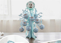 10pcs creative color gift ball box candy/earphone wire/jewelry storage box wedding favor tin box cable organizer container