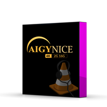 AIGYNICE M33U EUR Android box Android 10 6K HD compatible with Smart TV, Good TV, Duplex TV, SmarterPro TV, stable Multi Device