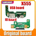 Для For Asus X555L X555LD X555LP K555 R556L X555 W519L HDD жесткий диск SB аудио кард-ридер плата X555LD_IO плата REV1.1 2,0 3,1 3,3