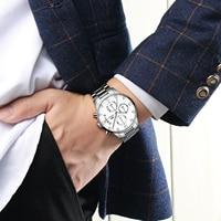 2019 Relogio masculino Relógio Dos Homens De Ouro E Preto Mens Relógios Top Marca de Luxo Relógios Desportivos 2019 Reloj Hombre À Prova D' Água|Relógios para Casais| |  -