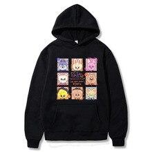 Skzoo Stray Kids Hoodie Funny Cartoon Hoodies Kpop Streetwear Harajuku Graphic Casual Winter Unisex Sweatshirts Couple Clothes