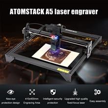 ATOMSTACK A5 20W Laser Engraver CNC 410*400mm Carving Area Full-metal Structure Desktop DIY Engraving Cutting Machine