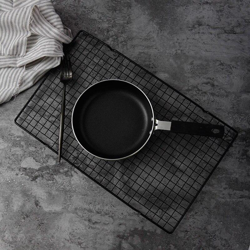 Image 2 - Черный сетчатый поднос для выпечки, подставка для печенья, печенье пирог, хлеба, тортов, охлаждающая стойка, аксессуары для фотосъемки, реквизит для фотографии продуктов питанияАксессуары для фотостудии    АлиЭкспресс