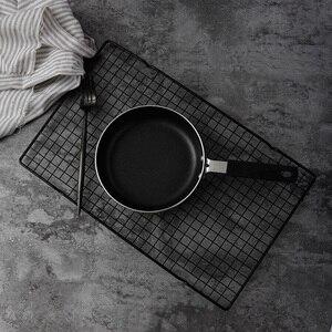 Image 2 - Siyah ızgara fırında demir çerçeve tost raf pişirme kek standı yiyecekler ekmek fotoğraf sahne stüdyo fotoğraf aksesuarları fotostudio