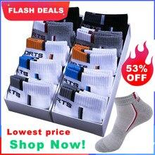 10 paar Hohe Qualität Männer Ankle Socken Atmungsaktive Baumwolle Sport Socken Mesh Casual Sportlich Sommer Dünnen Schnitt Kurze Sokken Größe 38-48