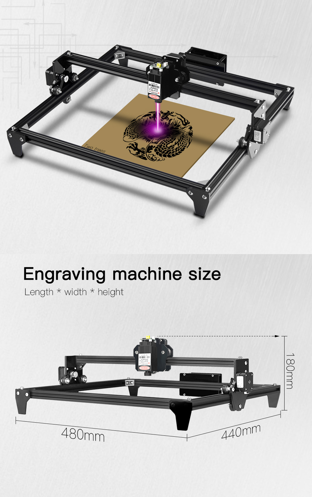 Laser Cutting and ENgraving Machine for Wood Cutting/Routing