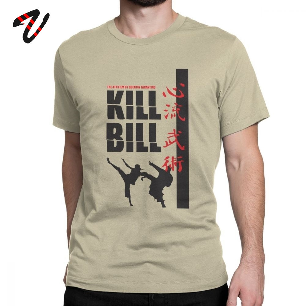 Kill Bill T-Shirts Men Novelty Cotton Tees Short Sleeve T Shirt New Arrival Clothing Suspense Movie Streetwear Father Day Gift image