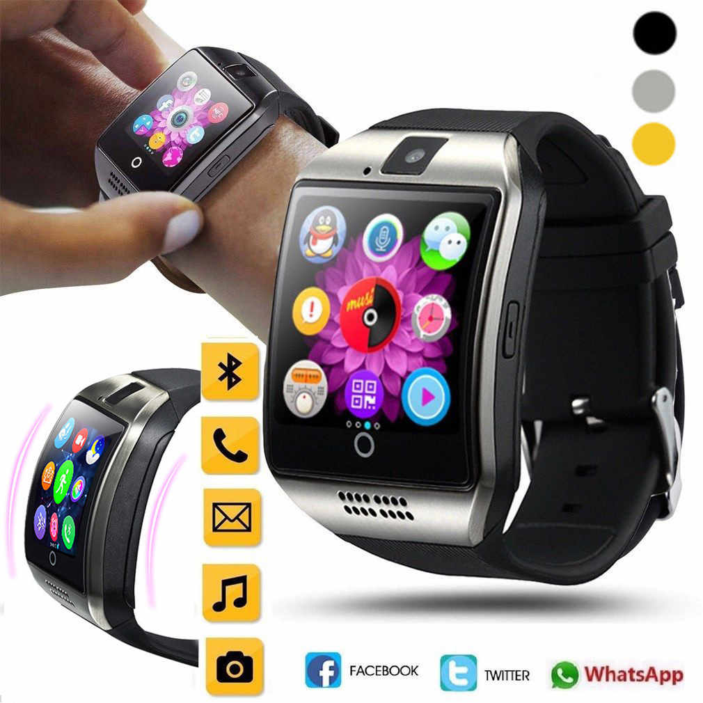 HIPERDEAL 2019 Q18 Bluetooth smart watch GSM karta TF do aparatu telefon zegarek na rękę dla systemu Android Jy30