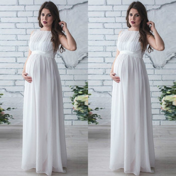 Casual Summer Maternity Dresses in Boho Style 2