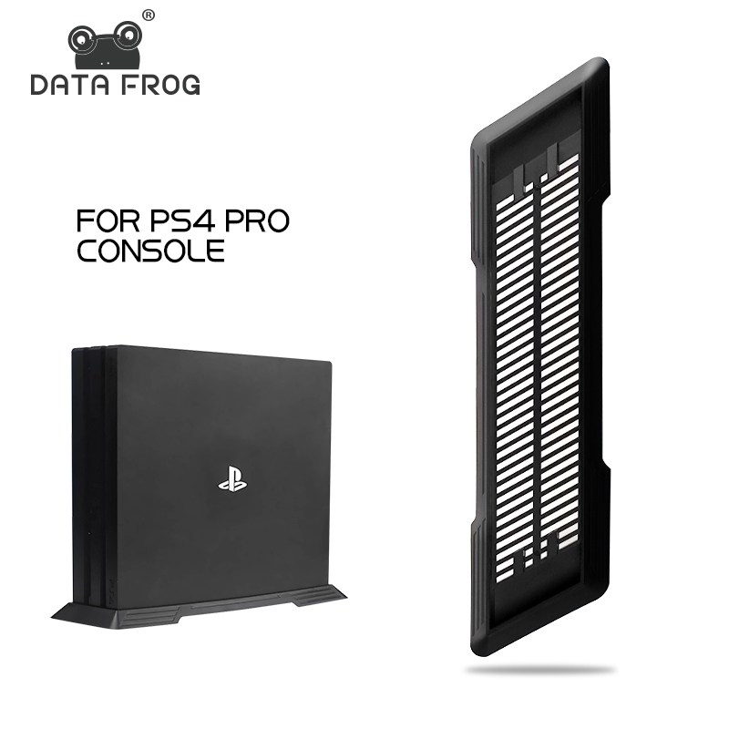 Data Frog Vertical Stand Base Dock Mount For PS4 Console Cooling Holder For Playstation PRO PS4 pro Game Console Accessories