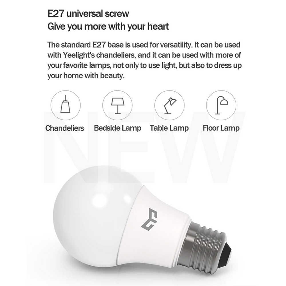 Yeelight E27 9W E27 נוריות הנורה העין-הגנה 6500k לבן מנורת גבוהה תאורה לחדר שינה מטבח מרפסת מוסך עבור xiaomi mijia