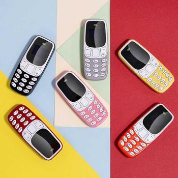 Super Small Mini Mobile Phones Bluetooth Earphones Voice Changer Dialer Low Radiation Dual SIM Cell Phones PK 7s+ KK1 J8 J9 T3 6