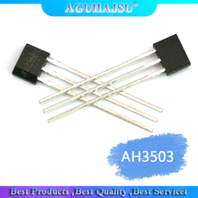 10pcs 3503 Linear Hall Circuit Hall Element Hall Switch TO-92UA AH3503