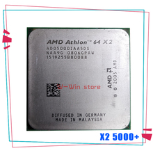 64X2 AMD Athlon 5000 + 5000 Processador de 2.6 GHz Dual-Core CPU Tomada ADO5000IAA5DO AM2